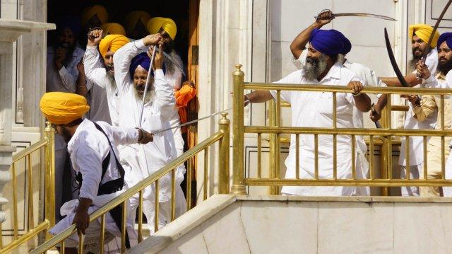 Sikh-clash