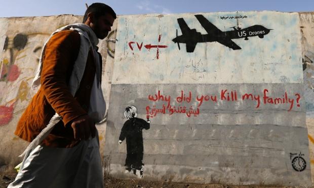 Drones-graffiti