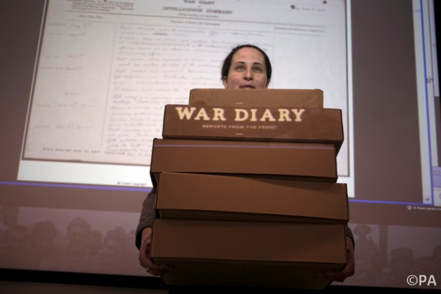 First World War diaries go online