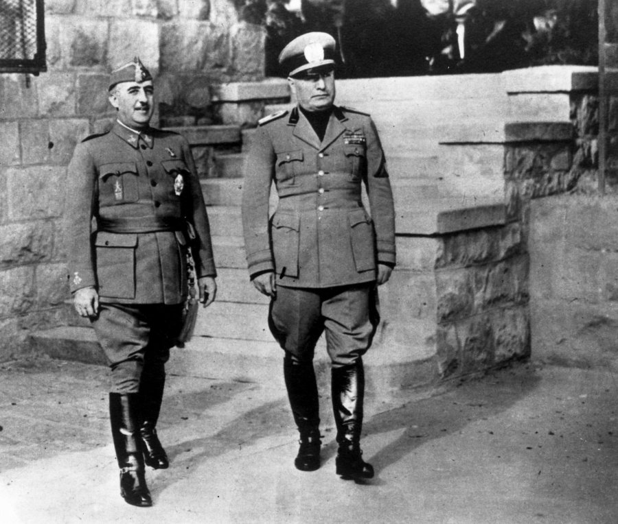 ¿Cuánto mide Adolf Hitler? - Altura - Real height Franco-mussolini